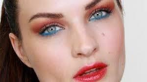09 19 por bright sunset eyes makeup tutorial