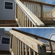 metal handrails for deck stairs. metal and wood handrails. handrails for deck stairs c