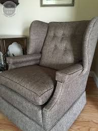 upholstery cost wing chair with skirt wrightstown nj