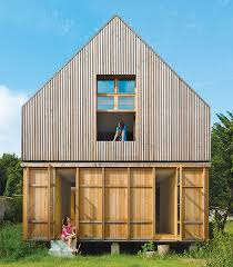 Modern Wood House The Architects At Arba Designed An Eco Friendly French Country
