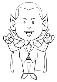 Small Picture Vampire Coloring Pages Wecoloringpage