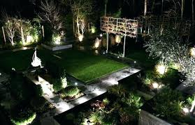 outdoor led landscape lighting led landscaping bronze spotlight 8 piece outdoor led landscape lighting set