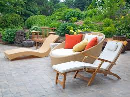 Backyard furniture ideas Home Modern Outdoor Furniture Hgtvcom Modern Outdoor Furniture Hgtv