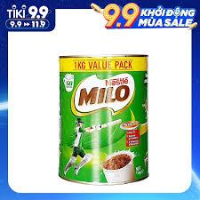 Sữa Bột Nestle Milo Value Pack 1kg Hàng Nội Địa Úc, Bổ Sung Vitamin và  Khoáng Chất Giúp Bé Phát Triển Chiều Cao và Cân Năng, Thông Minh và Sáng  Tạo Năng