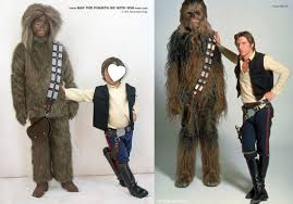 diy chewbacca and han solo costumes check out all our other star wars costumes on