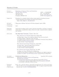 Resume Latex Template Resume Template Ideas