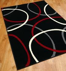 red and black rug rugs in black red cream and grey red black and gray bathroom rugs