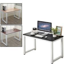 Home office computer desk Table Image Is Loading Homeofficecomputerdeskpclaptoptablemetal Ebay Home Office Computer Desk Pc Laptop Table Metal Leg Workstation