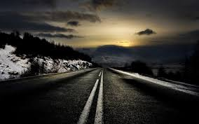 background images nature dark. Perfect Images Dark Winter Road With Background Images Nature A