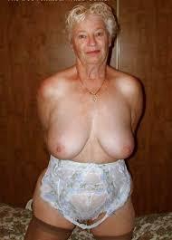 Big breast granny pic