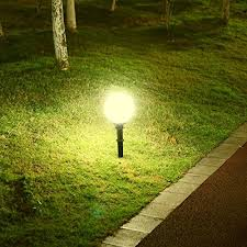 in ground lighting. Howdy, Cheers On Your Time Intended For Studying Our Miady 7W LED Outdoor  Light Landscape Light, Watterproof 8\u2033 Globe 700 Lm, 3000K Warm White With In Ground Lighting Y