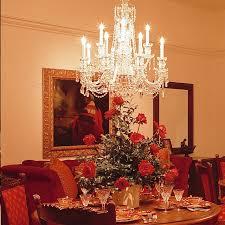 Crystal Chandelier  Medium With Swarovski  Kings Chandelier Co - Dining room crystal chandeliers