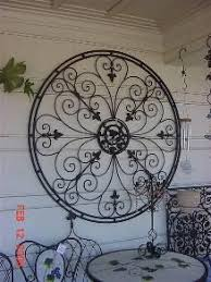 iron garden structures wrought iron wall decoriron  on ornamental iron wall art with inspired by the ornamental ironwork of the new orleans garden