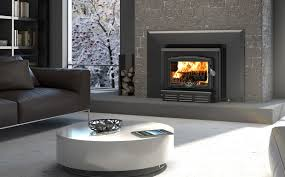 the 1100 insert is the ready made solution for smaller stone fireplaces with its back face at a 45 angle it offers a wide range of configurations
