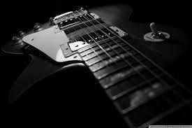 black guitar ultra hd desktop