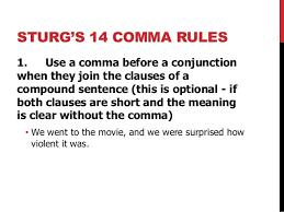 Where Do You Put Commas Under Fontanacountryinn Com