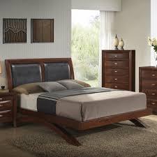 emily bedroom set light oak: roundhill furniture emily panel  piece bedroom set wayfair