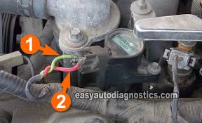 part 1 how to test the ford 4 6l 5 4l coil on plug ignition coils circuit descriptions of the c o p ignition coil connector how to test the ford 4 6l