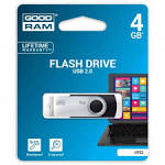 USB Flash 4Gb Goodram Twister USB2.0 (UTS2-0040K0R11) Black