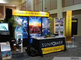 Trade Show Booth Design Ideas solar energy tradeshow booth
