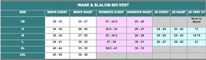 Womens Life Vest Size Chart Eagle Womens Apex Vest