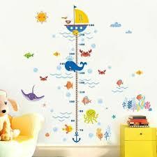 Bathroom Chart For Kids Finding Nemo Height Chart Wall Stickers Kids Boys Nursery