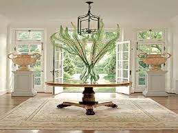 round foyer entry tables for decoration furniture