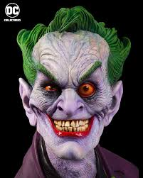 along with this bust i know you also designed joker makeup and costumes for your family for a few years ago for that you created versions of