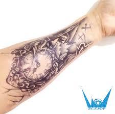 Vodotěsný Dočasné Tetování Samolepky Velké Velikosti 2115 Cm