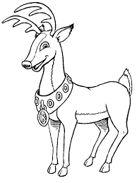Small Picture Download christmas reindeer coloring pages step step to color