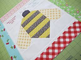 33 best Honey Bee Swap images on Pinterest | Bees, Honey bees and ... & The Bee in my Bonnet Row Along.Quilt Label and a Bee in my Bonnet Bumble Bee  Tutorial! Adamdwight.com