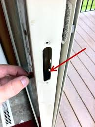 sliding glass door locks repair how to fix broken sliding glass door lock anderson sliding glass door lock replacement