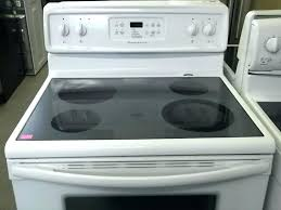 frigidaire flat top stove glass top stove gallery glass top stove burner not working