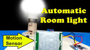 Automatic Room Light Controller Without Microcontroller