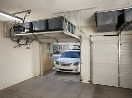 keep track storage solutions completely thought out overhead garage storage diy installation is made easy