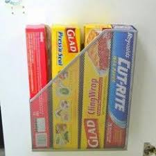 Free up <b>valuable</b> kitchen drawer space by storing aluminum <b>foil and</b> ...