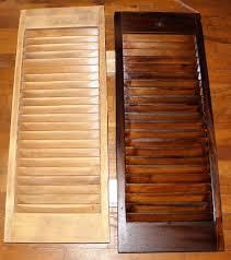 homemade shutters