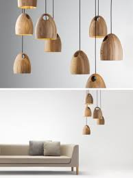 wood pendant lighting.