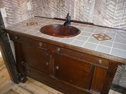 rustic bathroom vanity lights. Mosaic Tile Wall Rustic Bathroom Vanities For Sale Sink Vanity Design Ideas Custom Handmade Classic Carving Framed Mirror Twin Old Lighting Lights N