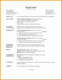 resume for students format 5 cv samples for undergraduate students theorynpractice