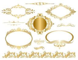 Image Vector Instant Download Golden Frame Border Clipart Gold Digital Flourish Swirl Frame Clip Art Golden Vintage Frame Scrapbook Embellishment 0044 Etsy Instant Download Golden Frame Border Clipart Gold Digital Etsy