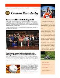 Canton Quarterly- Summer 2016