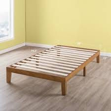 Wooden bed base Queen Bed Quickview Wayfair Wood Bed Frames Youll Love Wayfair