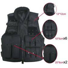 <b>Military</b> Assault <b>Vest</b> in Paintball <b>Vests</b> for sale | eBay