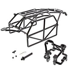 Thunder tiger 1 8 bushmaster roll rear cage assembled kit body post