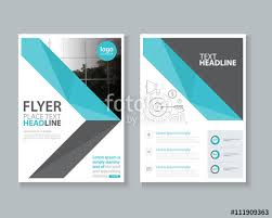 Cover Sheet Design Page Brochure Flyer Report Layout Design Template And Cover