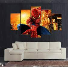 Modern Art Paintings For Living Room Spiderman Artwork Promotion Shop For Promotional Spiderman Artwork