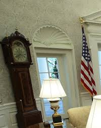 white house oval office. White House Offers Glimpse Of Recently Finished Renovations Oval Office E