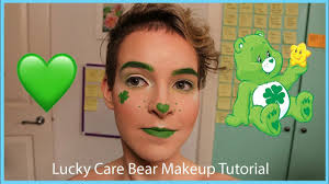 lucky carebear glam makeup tutorial pinemup