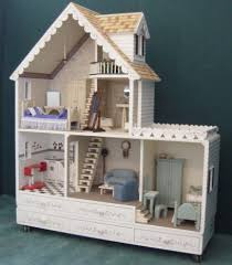 wooden barbie dollhouse furniture. Country Front Closure Closed Wooden Barbie Dollhouse Furniture G